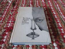 To Live Again by Robert Silverberg HC/DJ 1969