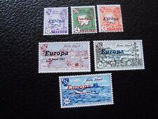 HERM ISLAND - 6 vignettes 1961 n** (europa) (col1) (Z)