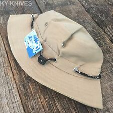 Bucket Hat Boonie Basic Hunting Fishing Outdoor Summer Cap Unisex HT-861 TAN -T