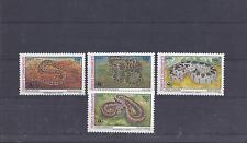 Türkei 1991 ** 2938-41 Schlangen Satz Postfrisch siehe scan