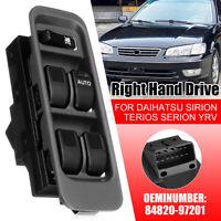 RHD Window Switch Control For Daihatsu Sirion Serion M100 YRV Mira L500 98~01