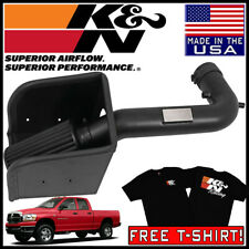 K/&N 77-1533KP Polished Performance Air Intake for Dodge Ram 03-08