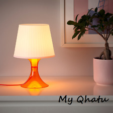 "IKEA LAMPAN Table lamp, Desk,  Orange White 11"" New"