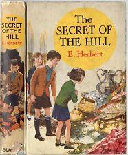ELAINE HERBERT THE SECRET OF THE HILL BLACKIE HARDBACK PRESENTATION STICKER 1936