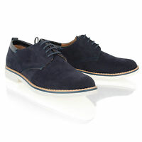New Mens Boys Smart Formal Casual Lace up Office Faux Suede Shoes Size 6-11