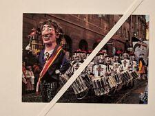 Fasnacht in Basel - Ansichtskarte um 1980 - Fastnacht - Trommler