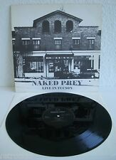 Naked Prey - Live In Tucson | Fundamental 1990 | VG+ / VG+ | Cleaned Vinyl LP