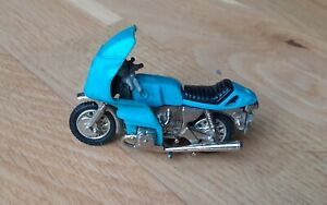 Britains Motorcycle Motorbike, Blue/Silver, Excellent Condition....