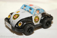 JAPAN TINPLATE BLECH VW VOLKSWAGEN BEETLE KAFER POLICE EXCELLENT CONDITION