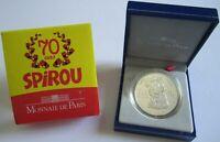 Frankreich 1,50 Euro 2008 70 Jahre Spirou Silber
