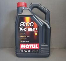 MOTUL ACEITE DE MOTOR 8100 X-CLEAN + 5w-30 5 Litros AUDI BMW MB VW Longlife +