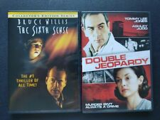 The Sixth Sense and Double Jeopardy Dvd's