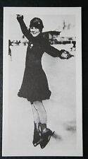 Sonja Henie NORWAY femme patineuse artistique & Hollywood actrice # Carte photo