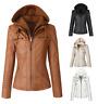 winter women leather jacket female warm jacket coat