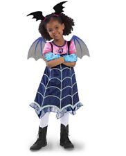 VAMPIRINA BOO-TIFUL DRESS HALLOWEEN COSTUME GIRLS NWT 4-6X BLACK DISNEY BOOTIFUL
