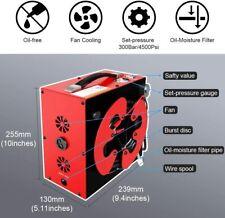 GX CS3 PCP Air Compressor Pump 4500Psi 30Mpa 12V / Home 110V Auto-Stop Oil-Free