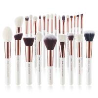 Jessup Professional Makeup Brushes Powder Blush Eyeshadow Kabuki Face Rose Gold