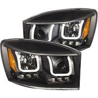Anzo USA 111314 Projector Headlight Set Fits 06-09 Ram 1500 Ram 2500 Ram 3500