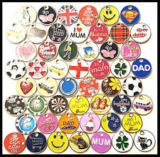 PACK OF 12 RANDOM SHOPPING TROLLEY TOKEN COINS WITHOUT LOBSTER CLASPS