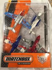 Matchbox On a Mission Sky Busters Arctic Adventure Pack 4 Planes New