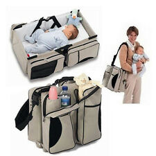 Cama De Bebé Multifuncional Portátil/Soporte Universal Sillita Bolso Organizador