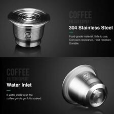304 Stainless Steel Refillable Reusable Coffee Capsule Pods For Nespresso Coffee