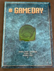 Jacksonville Jaguars Inaugural Game Day Program 9/5/95 Houston Oilers, EXCE