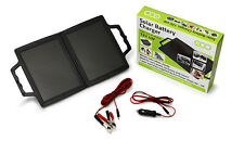 Eco Power Shop - 12V 4W Portable Folding Solar Panel Briefcase + 1 Yr Warranty