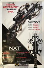New Tenpoint Nitro X Crossbow Poster #P001
