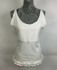 Spanx Top Size XL Tan Ivory Solid Sleeveless Compression Womens