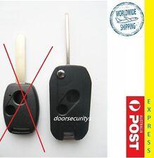 Remote Flip Key 2 Button Case shell HONDA ACCORD ODYSSEY  CIVIC CRV S2000 JAZZ