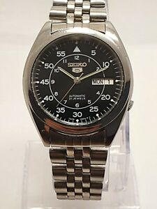 Seiko 5 Automatic Stainless Steel Men Watch