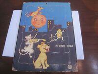 Vintage Wooden Jigsaw Puzzle ' HI - DIDDLE - DIDDLE '
