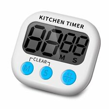 Large LCD Digital Kitchen Egg Cooking Timer Count Down Clock Alarm Stopwatch