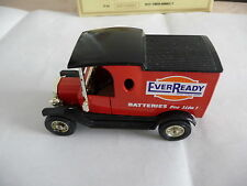 Matchbox Models of Yesteryear Y12 Ford Model T Van Ever Ready Pre Pro model