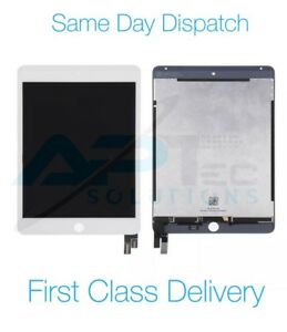 Original iPad mini 4 A1538 A1550 LCD Display Touch Digitizer Assembly White