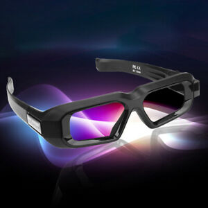 Active 3D Glasses Blue-tooth RF for 3DTV Samsung and Epson 3LCD Projector TW5600