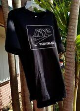 Sz Large Unique Rare Nike SportsWear Black Men's T-Shirt Tee Gym Training Futura