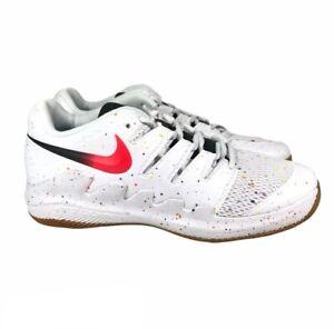 Nike Junior Vapor X Tennis Shoes White Low Top Sneakers AR8851-108 Size 5Y