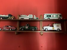 Set Of 6 Mini Commercial Vehicles With Display Shelf