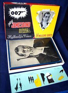 60's Vintage 007 JAMES BOND GOLDFINGER BOARD GAME 1965 Japan Hanayama Toys RARE!