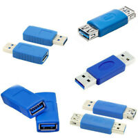 AM/AM AF/AF USB 3.0 Adapter Type A Female To Female Coupler Gender Connector