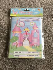 Glitter Fairies Girls Party Invitations Pack Of 20.