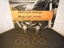 Indian Scout Piston Kit Pistons Rings Ring Dia 73.00 .030 Over Size
