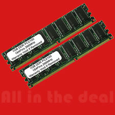 2GB Kit DDR PC2100 2X 1GB PC 266 Mhz  184 pin CL 2.5 LOW DENSITY DESKTOP MEMORY