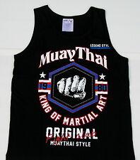 """Top MUAY THAI Träger-Shirt -""""Madtong""""-T-Shirt-Tank Top-Kickboxen"""