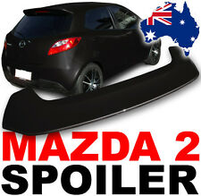 Mazda 2 Spoiler 2007+ Model PAINTED IN BRILLIANT BLACK A3F rear wing body kit