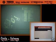 Yamaha dt80 MXS 5t8 catálogo de repuestos en microfich _ microfilm _ extenso _ película _ catálogo