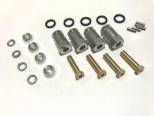 Aluminum 12mm Hex 20mm Wheel Extend for Traxxas TRX-4 Silver