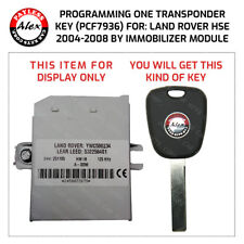 KEY PROGRAMMING FOR LAND ROVER HSE 2004-2008